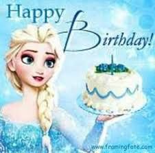 Frozen Birthday Meme - frozen happy birthday below courtesy of happy