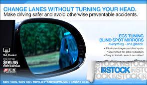 Where To Install Blind Spot Mirror Vwvortex Com Ecs Tuning B6 Passat Blind Spot Mirrors In