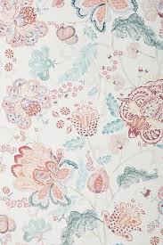raspberry floral wallpaper