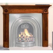 georgian wooden fireplace mantel