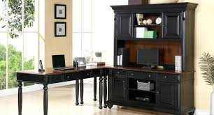 L Shaped Computer Desks With Hutch L Shaped Computer Desk With Hutch U Shaped Desk With Hutch Costco