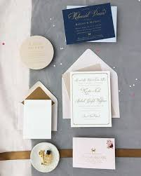 blush and gold wedding invitations kristen michael s gold gold blush wedding invitations