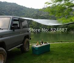 Camping Tent Awning Portable Car Awning Tent Side Awning Sun Shading Sunscreen Beach