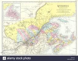 Newfoundland Map Canada East Quebec New Brunswick Nova Scotia Newfoundland Bacon
