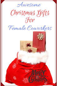 christmas gift ideas female coworkers would find adorable