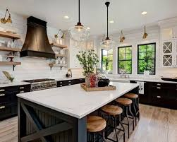 Farmhouse Kitchens Designs 30 Best Farmhouse Kitchen With Black Cabinets Ideas Houzz