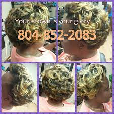 crown u0027d in glory hair salon hair salons 10400 chester rd