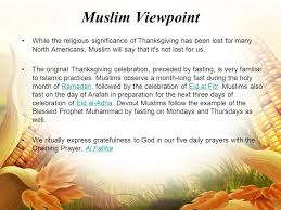thanksgiving for a muslim history of thanksgiving in ancient times