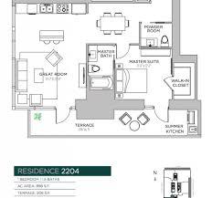 Echo Brickell Floor Plans Floor Plans Echo Brickell Miami