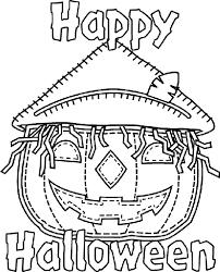 halloween jack u0027 lantern coloring crayola