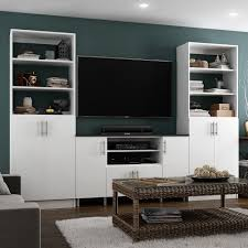 Tv Cabinet Designs For Living Room White Tv Stands Living Room Furniture The Home Depot
