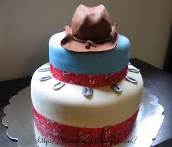 cakes cowboy baby shower cake