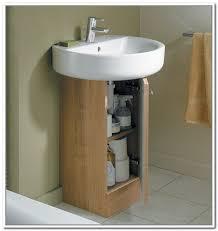 under bathroom sink storage ideas small pedestal sinks lemetricblog com in sink ideas 15 gloryhound info