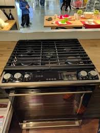 Slide In Gas Cooktop Nutid Slide In Range With Gas Cooktop Stainless Steel Ranges