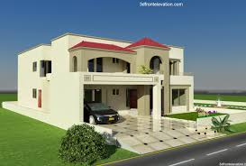 new design house 3d front elevation com 1 kanal plot house design europen style in