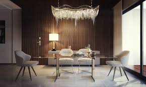 Homestyler Design Elegant Dining Room Design With Modern Lights As The Main