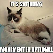 Saturday Meme - saturday is for relaxing happy weekend everyone 3 happy weekend
