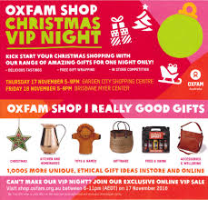 oxfam shop garden city christmas vip night u2013 oxfam community
