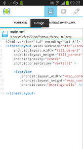 tutorial android user android ui tutorial aide android ide
