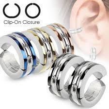 hoop huggie sterling silver diamond cut faceted hoop earrings in 16 5mm