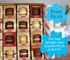 sponge gifts birthday cakes gift vouchers subscriptions