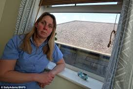 the bedroom window lucy east s horror after neighbour builds extension that blocks her