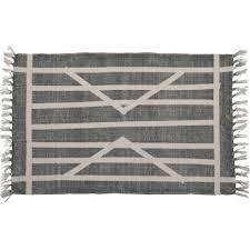homart california design house block print rug cotton rug 2x3