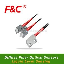 liquid light guide liquid level sensing diffuse fiber optical sensor liquid level