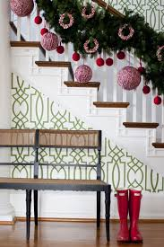 Stairs Decorations by 528 Best Christmas On The Stairs Images On Pinterest Christmas