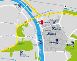 Wurzburg Germany Map by