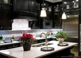 black cabinets white countertops luxury black kitchen cabinets with pure white countertops