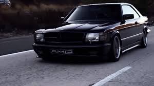 mercedes sec 560 amg this sinister 1988 mercedes 560 sec amg is a thing of