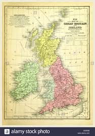 Map Of Britain Map Of Britain Stock Photos U0026 Map Of Britain Stock Images Alamy