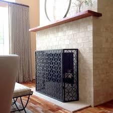 Free Standing Fireplace Screens by Batista Standing Fireplace Screen 11 Ams Fireplace Inc