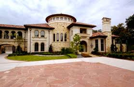 villa style homes h hughes properties custom home builders homes of the rich