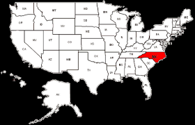 usa carolina map carolina maps and data myonlinemaps nc maps