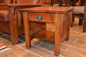Oak End Table Crafters And Weavers In Business For Almost 20 Years In Usa