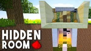 minecraft redstone tutorial 1x1 piston door entrance youtube