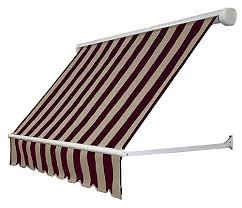 Beauty Mark Awnings Beauty Mark Mesa 10 Ft Retractable Window Awning 24 Inch