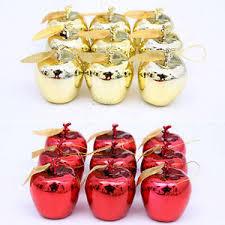 12pcs tree apple decorations baubles wedding