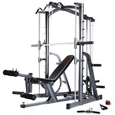 marcy mwb1282 smith machine press home multi gym with adjustable