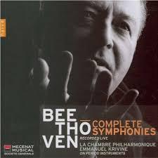 la chambre philharmonique complete symphonies krivine la chambre philharmonique by
