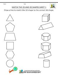 3 dimensional shapes kindergarten worksheets 2017 olivia hytten