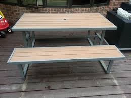 faux patio furniture 2017 and picnic table pqxx org outdoor