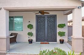 Security Patio Doors Scroll Security Screen Door By Impression Security Doors
