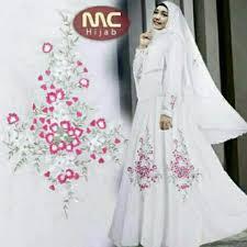 wedding dress syari pre order muslimah sleeve narcissus syari maxi dress