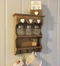Vintage Wooden Spice Rack Pine Spice Rack Ebay