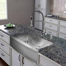 stainless farmhouse kitchen sink 36 inch kitchen sink vigo farmhouse apron single bowl 16 gauge