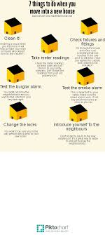 things to buy for first home checklist the first things you need to do when moving into a new home and