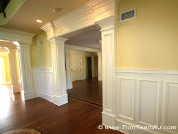 dining room trim ideas doorsways and archways traditional dining room new york by